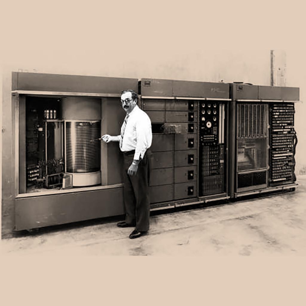 RAMAC Engineering Prototype, IBM San Jose, 1956
