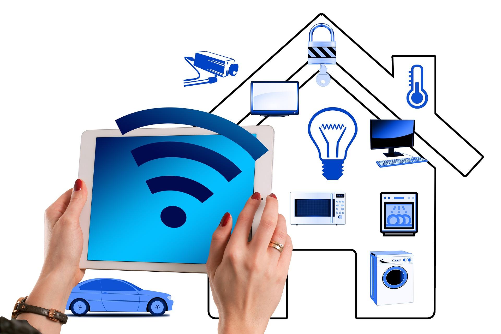 el internet de las cosas en todos los hogares